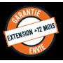 Extension de garantie +12 mois